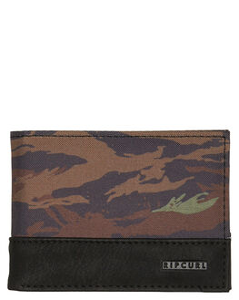 KHAKI MENS ACCESSORIES RIP CURL WALLETS - BWULH10064