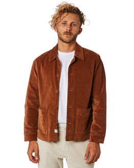 MOCHA OUTLET MENS THE CRITICAL SLIDE SOCIETY JACKETS - JK1818MOCHA