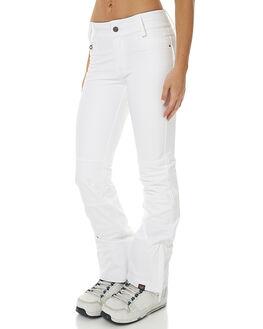 BRIGHT WHITE SNOW OUTERWEAR ROXY PANTS - ERJTP03020WBB0