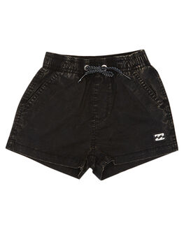 BLACK KIDS BOYS BILLABONG SHORTS - 7581716BLK