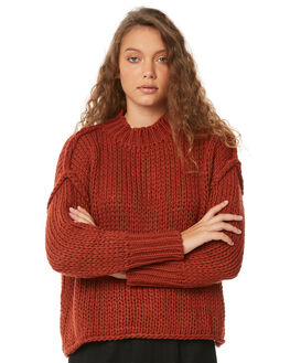 TERRACOTTA WOMENS CLOTHING RUE STIIC KNITS + CARDIGANS - W18-3TTER