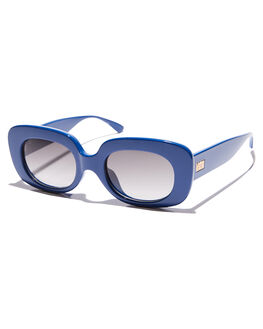 GLOSS BLUE SAPPHIRE WOMENS ACCESSORIES CRAP SUNGLASSES - 172Q55GFGLBLU