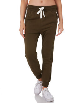 DARK OLIVE WOMENS CLOTHING C&M CAMILLA AND MARC PANTS - VCMP4337OLIVE