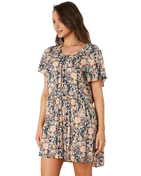 VINTAGE FLORAL WOMENS CLOTHING O'NEILL DRESSES - 5721609VFRL