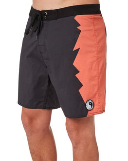 BLACK MENS CLOTHING TOWN AND COUNTRY BOARDSHORTS - TBO201BLK