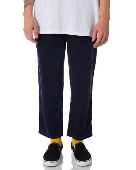 NAVY MENS CLOTHING STUSSY PANTS - ST085601NVY