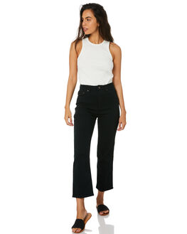 CARBON BLACK WOMENS CLOTHING RIDERS BY LEE JEANS - R-551732-MS6