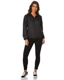 BLACK WOMENS CLOTHING SWELL JACKETS - S8173385BLK