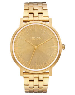 ALL GOLD MENS ACCESSORIES NIXON WATCHES - A1057-502