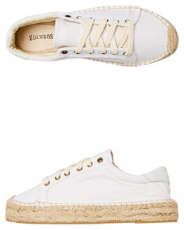 WHITE WOMENS FOOTWEAR SOLUDOS SNEAKERS - 1000017100