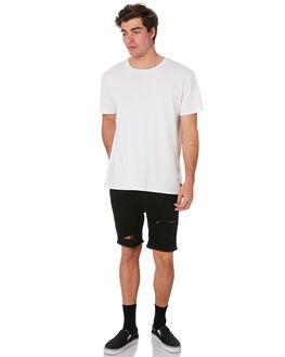 BLACK DESTROY MENS CLOTHING LEE SHORTS - L-606515-MA0BLKDT