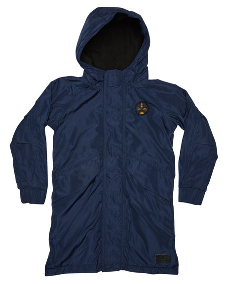 235849c57 Munster Boys Drainer 2 Poly Jacket - Teens - Navy