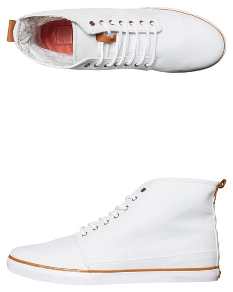 WHITE WOMENS FOOTWEAR REEF HI TOPS - 8316WHT