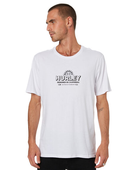 WHITE MENS CLOTHING HURLEY TEES - HAS1004SH100