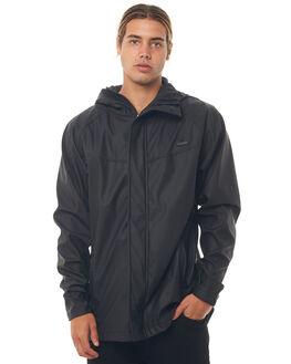 BLACK MENS CLOTHING BILLABONG JACKETS - 9585905BLK