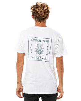 WHITE MENS CLOTHING THE CRITICAL SLIDE SOCIETY TEES - TE1812WHT