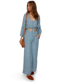 BLUE HAZE WOMENS CLOTHING BILLABONG FASHION TOPS - BB-6591096-BN4