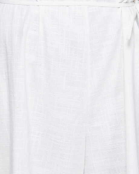 WHITE WOMENS CLOTHING BILLABONG PLAYSUITS + OVERALLS - BB-6592541-WHT