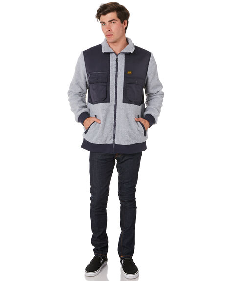 ASH GREY OUTLET MENS DEPACTUS JACKETS - D5194385ASHGY