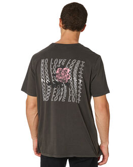 WASHED BLACK OUTLET MENS SILENT THEORY TEES - 4022128WBLK