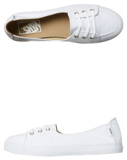 TRUE WHITE WOMENS FOOTWEAR VANS SNEAKERS - VNA38IDW00TRUE
