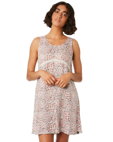 CLOUD PINK WOMENS CLOTHING VOLCOM DRESSES - B1341876CLD