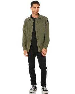 IVY GREEN MENS CLOTHING THRILLS SHIRTS - TW20-203FIVYGN