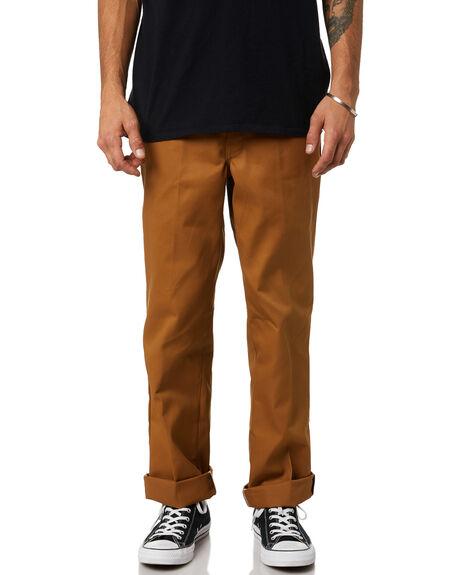 BROWN DUCK MENS CLOTHING DICKIES PANTS - 874BDH