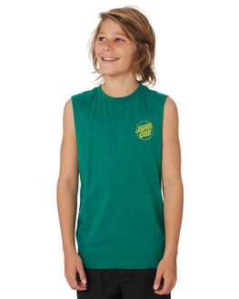 GLADE KIDS BOYS SANTA CRUZ TOPS - SC-YTD9273GLD