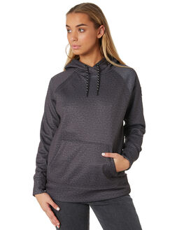 TRUE BLACK HEATHER WOMENS CLOTHING BURTON JUMPERS - 174781001