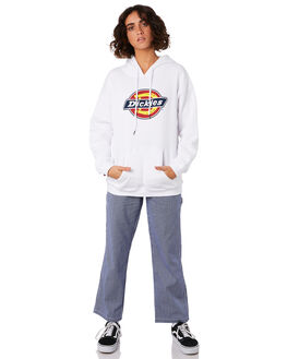 WHITE WOMENS CLOTHING DICKIES JUMPERS - KW3190501WH