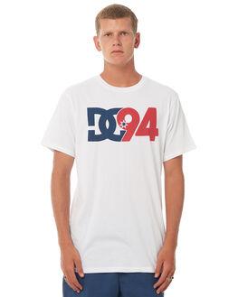 SNOW WHITE MENS CLOTHING DC SHOES TEES - UDYZT03454WBB0