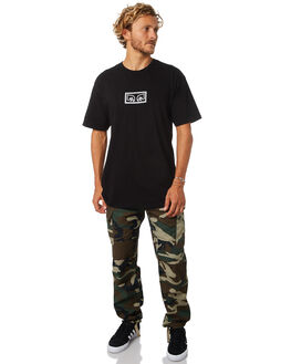 FIELD CAMO MENS CLOTHING OBEY PANTS - 142020097FCA