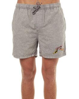 STONE GREY MENS CLOTHING RUSTY BOARDSHORTS - WKM0895SOG