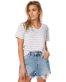 STRIPE WOMENS CLOTHING ASSEMBLY TEES - AW-S1713STR