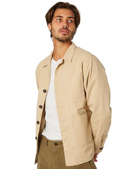 NATURAL MENS CLOTHING RHYTHM JACKETS - JAN19M-JK04-NAT