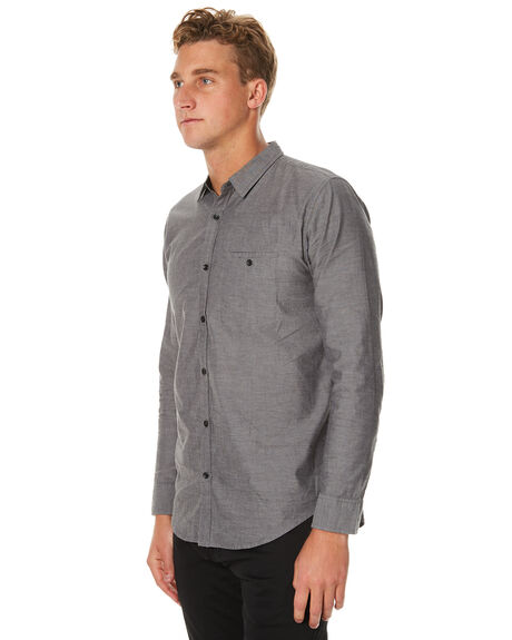 GREY MENS CLOTHING OURCASTE SHIRTS - W1030LTGRY