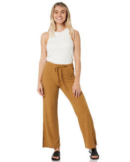 CAMEL WOMENS CLOTHING RUSTY PANTS - PAL1171CAM