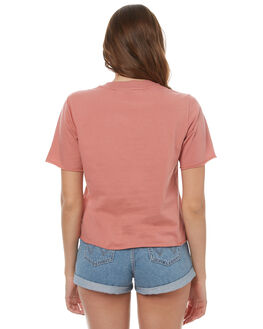RAW PINK WOMENS CLOTHING ADIDAS ORIGINALS TEES - BR9284RPNK