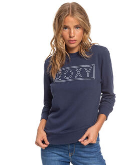 MOOD INDIGO WOMENS CLOTHING ROXY JUMPERS - ERJFT04175-BSP0