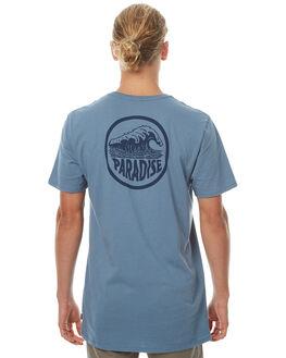 CADET BLUE MENS CLOTHING SWELL TEES - S5174014CBLU