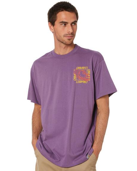 DUSTY MAUVE MENS CLOTHING CARHARTT TEES - I02710205E