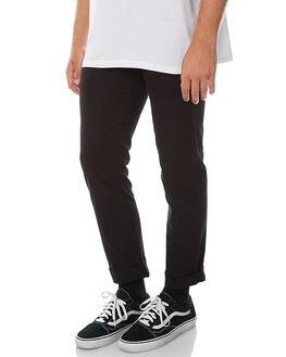 BLACK MENS CLOTHING VOLCOM PANTS - A1131601BLK