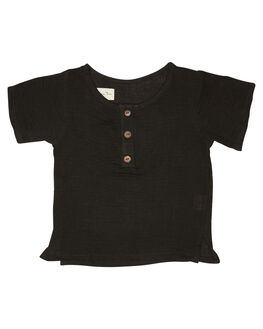 BLACK KIDS BABY CHILDREN OF THE TRIBE CLOTHING - BBTP0373BLK