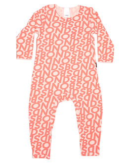 SCATTERED LOGO KIDS BABY BONDS CLOTHING - BXN4A1HE