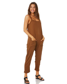 CHOCLATE WOMENS CLOTHING THE BARE ROAD PLAYSUITS + OVERALLS - 092041-02CHOC