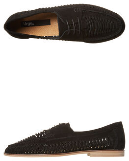 BLACK MENS FOOTWEAR URGE SLIP ONS - URG16099BLK