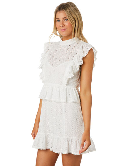 WHITE OUTLET WOMENS MINKPINK DRESSES - MP1908475WHT