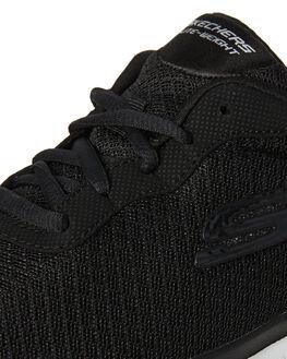 BLACK WOMENS FOOTWEAR SKECHERS SNEAKERS - 12775BLK