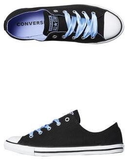 BLACK WOMENS FOOTWEAR CONVERSE SNEAKERS - 560640BLK